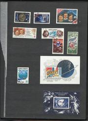 почтовые марки ссср и других стран мира