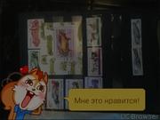 почтовые марки,  спорт